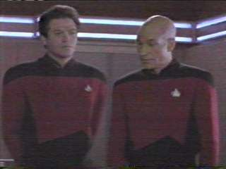 Erich Anderson and Patrick Stewart